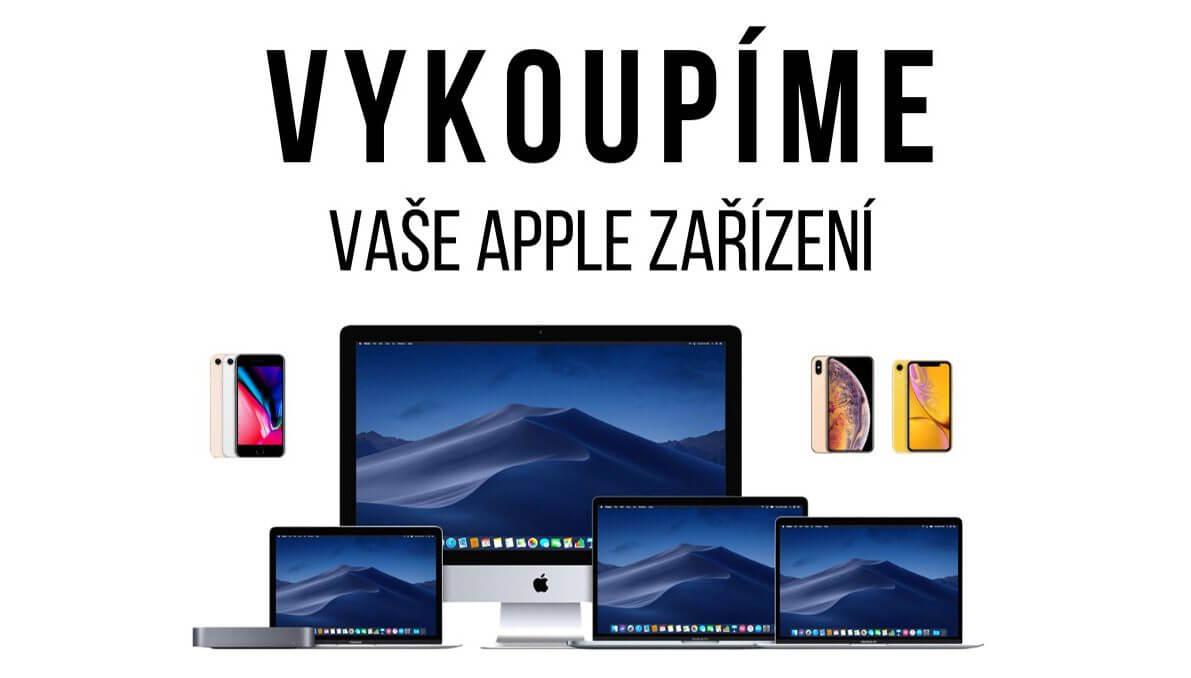 Výkup Apple iPhone MacBook